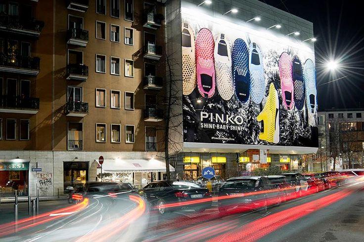 PINKO Shine Baby Shine sneakers at Largo La Foppa in the heart of Milano