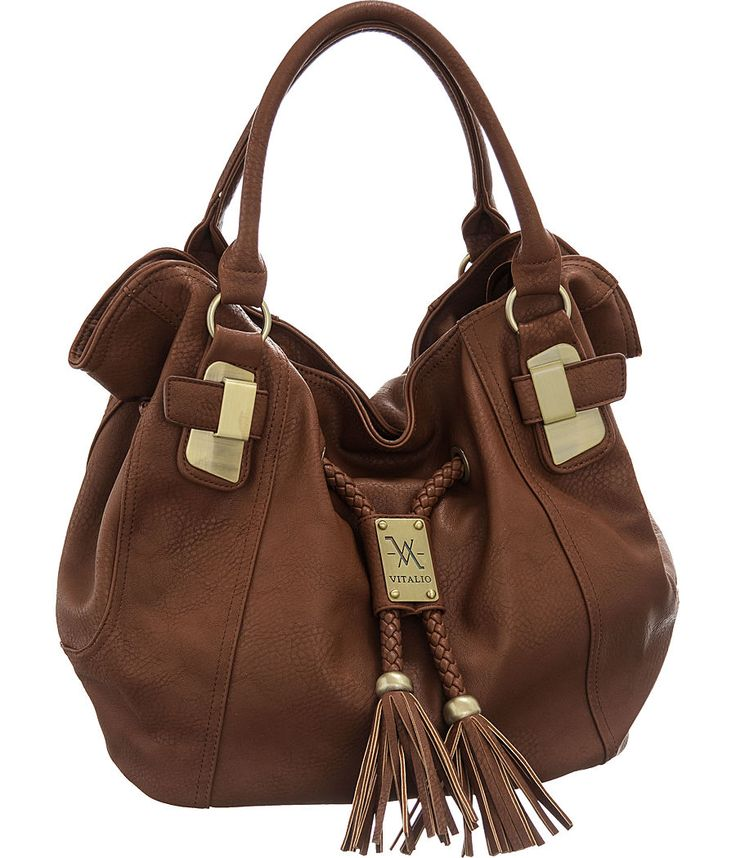 "Purse Boutique: Brown Large Vitalio Vera ""Savitha"" Hobo Handbags, Purses"