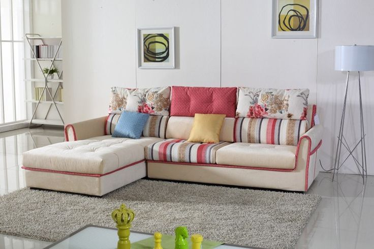 2016 wholesale latest L shaped living room furniture sofa set design