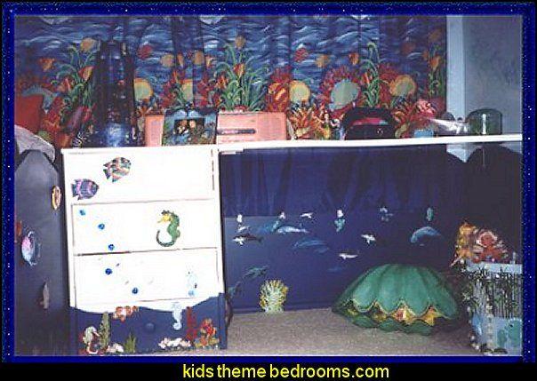 9 Best Underwater Theme Bedroom Decorating Natalies Bedroom Images On Pinterest Bedroom