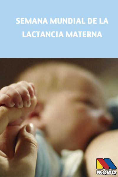 En Molto celebramos la semana mundial de la lactancia materna. #lactancia #madres #crianzanatural