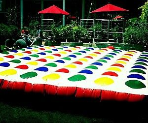 Inflatable Outdoor Twister
