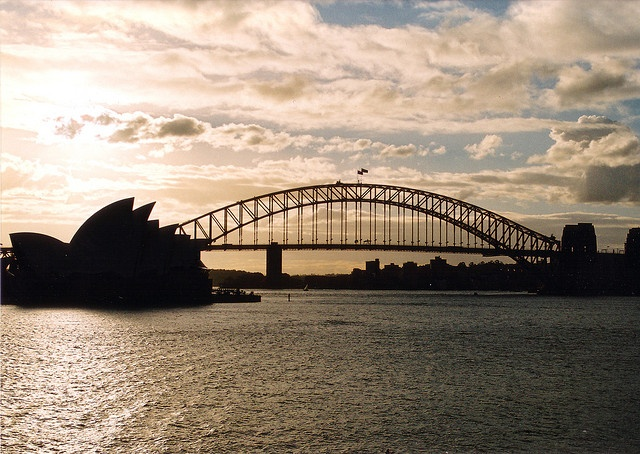 All sizes | Sydney Harbour Bridge and Opera House, via Flickr.