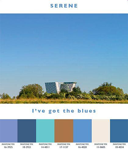 Serene - I've got the blues | Lenzing Spring/Summer 2014 Fashion & Color Trends