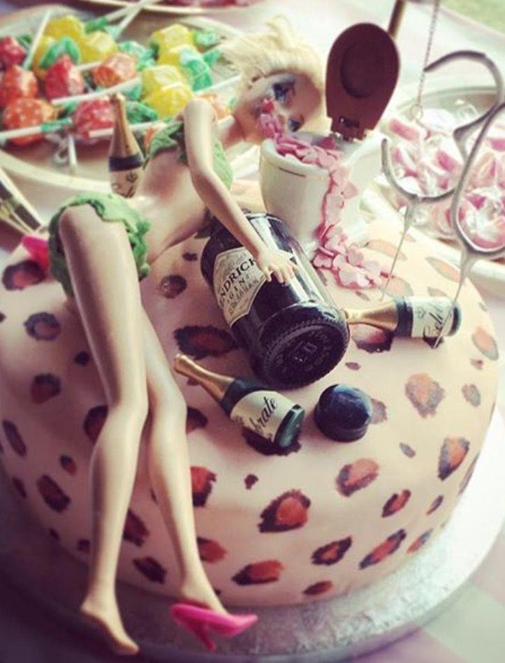 Drunk barbie dirty thirty cake