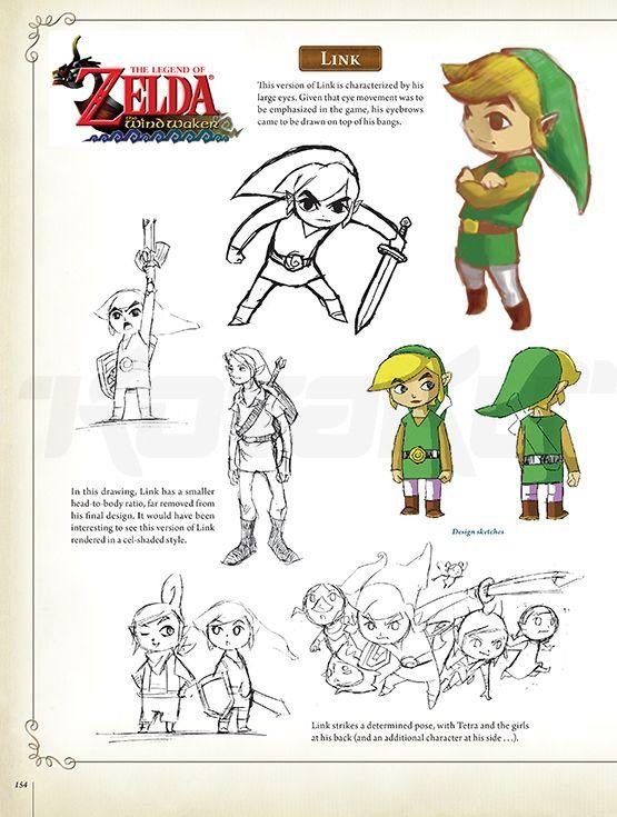Character Design Challenge Zelda : Best images about the legend of zelda wind waker on