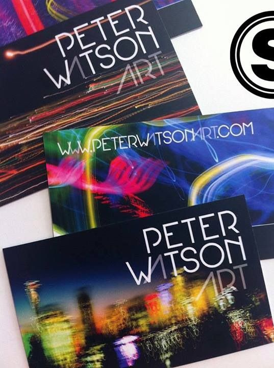 """Are you a """"creative"""" type who wants to build your individual profile  your business credibility? What impression do you leave behind when you meet people? http://www.stelladesign.com.au/featured-projects/#/peter-watson-art-brand-collateral-design-web-design"""