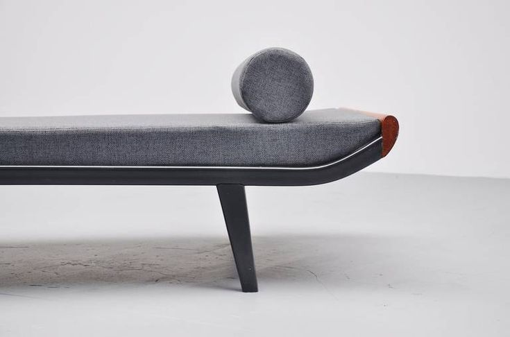 Dick Cordemeijer Cleopatra Daybed with Mattress, Auping, 1954   From a unique collection of antique and modern day beds at https://www.1stdibs.com/furniture/seating/day-beds/