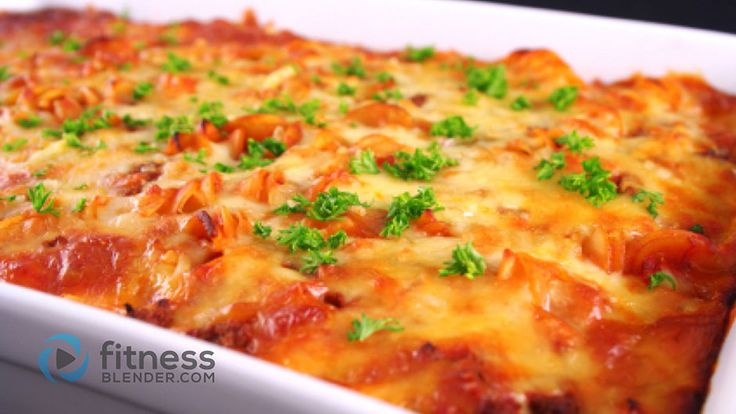 Healthy Vegetarian Lasagna Recipe