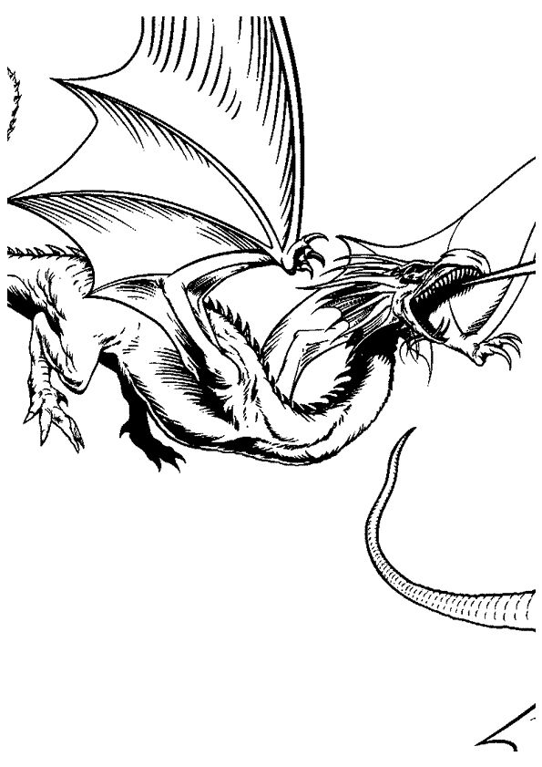 17 best images about coloriages de dragons on pinterest - Dragon a colorier ...