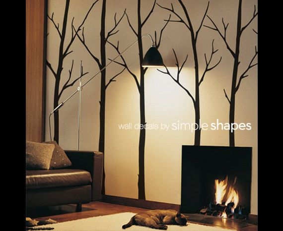Hey, I found this really awesome Etsy listing at http://www.etsy.com/listing/115078290/winter-tree-wall-decals-sticker-set