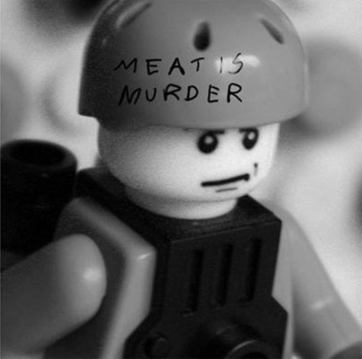 Lego album covers: The Smiths, Meat Is Murder by Aaron Savage