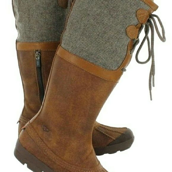 64ad52c0849 Womens Ugg Belcloud Black Leather Boot - cheap watches mgc-gas.com