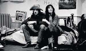 guardian interview Patti Smith and Sam Shepard in their play, Cowboy Mouth, in New York in 1971.