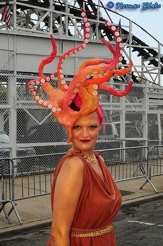Costume idea from the Coney Island Mermaid Parade - love it!!!