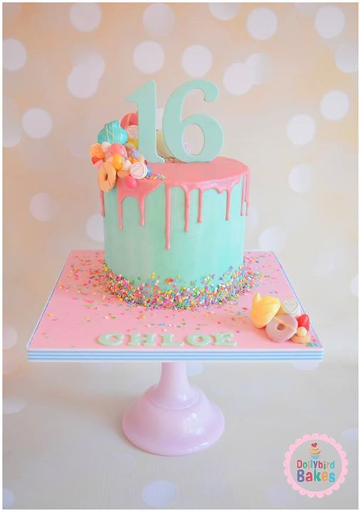 Best 25+ 16 birthday cake ideas on Pinterest 16th ...