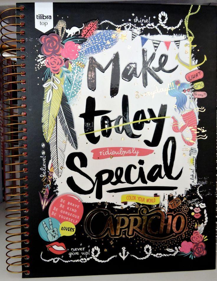 Caderno Make today Capricho - 40,60