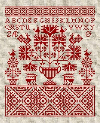 old cross stitch alphabet