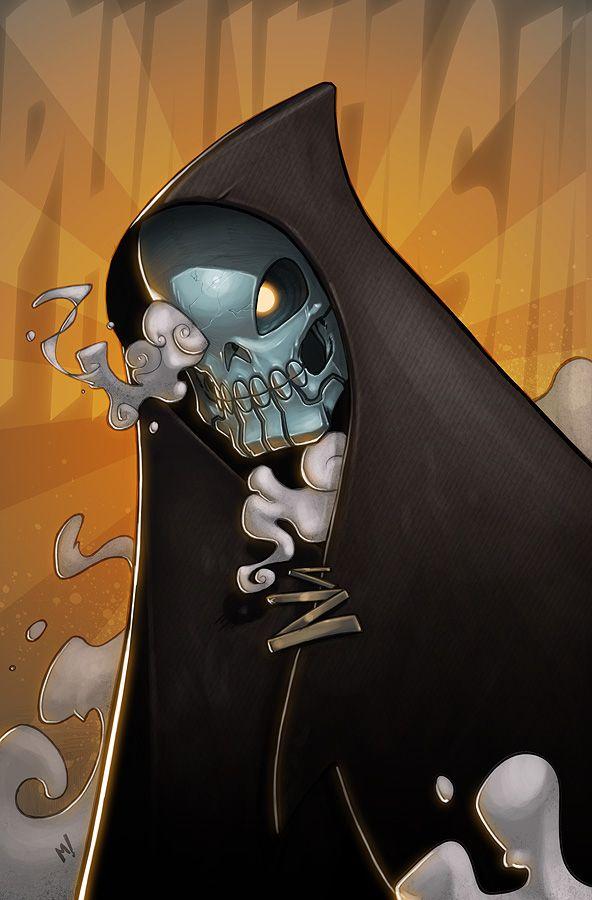 Batman Illustrations By Mike Henry   Oculoid   Art & Design Inspiration