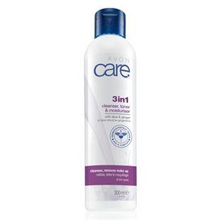Avon Care 3-in-1 Cleanser, Toner & Moisturiser