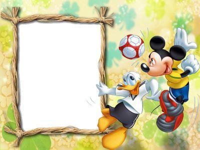 marcos png de mickey mouse para nios marcos gratis para fotografas