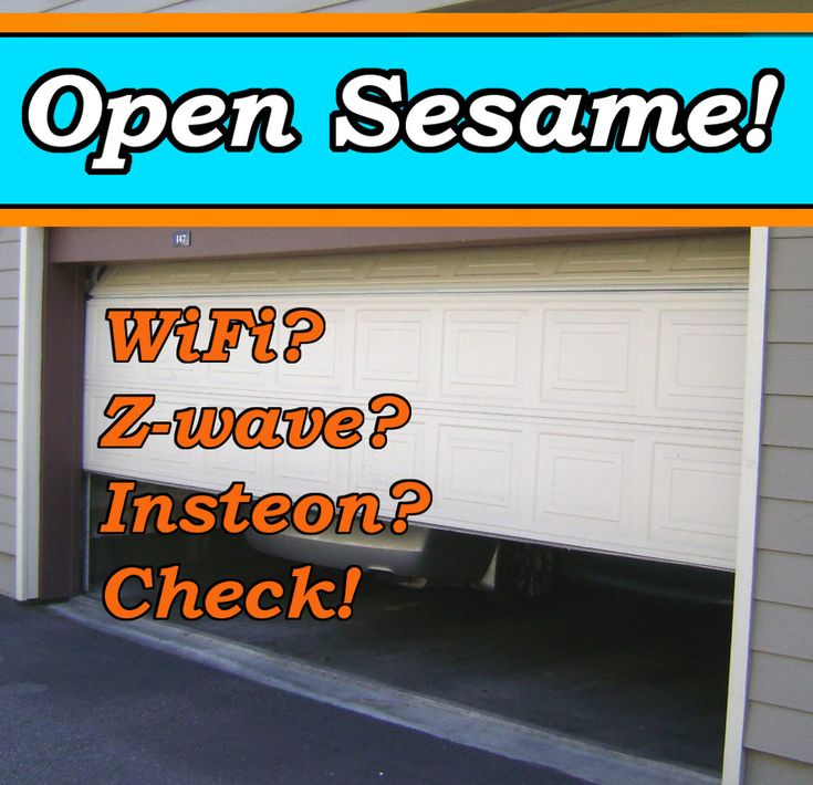 How to Make a Smart Garage Door Opener that Works with Any Protocol :http://24-7-home-security.com/how-to-make-a-smart-garage-door-opener-that-works-with-any-protocol/