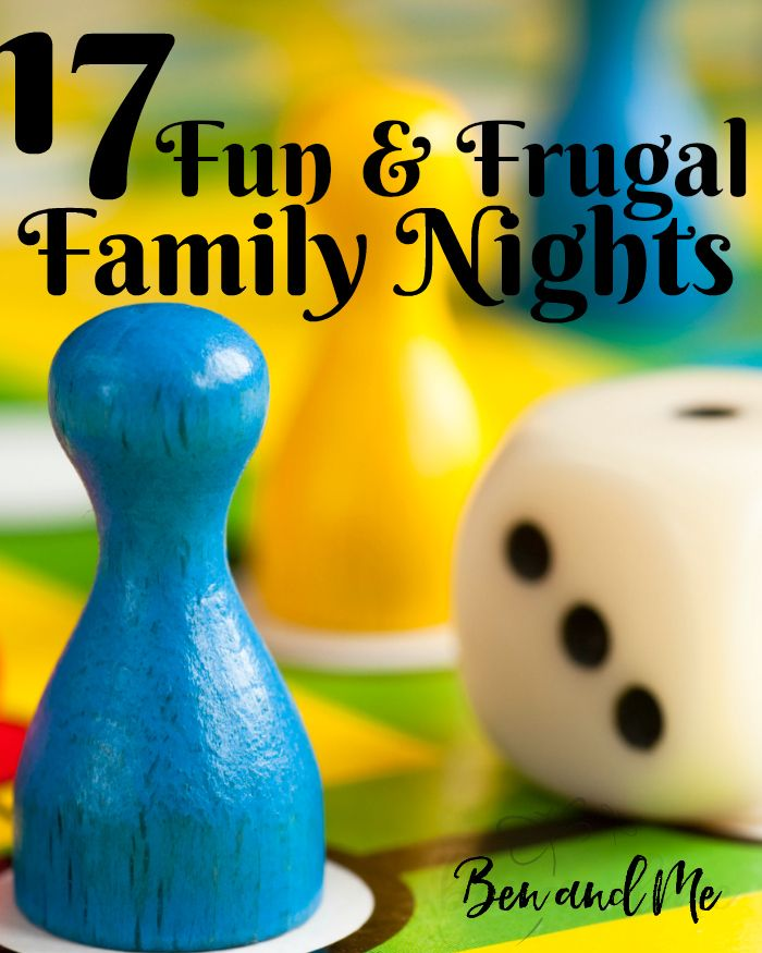 Family fun nights can be great opportunities to connect with your kids and create fun family memories. Here are 17 ideas for fun and frugal family nights.