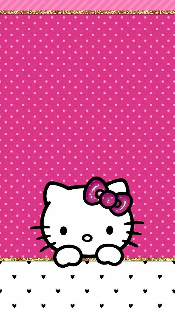 Sparkly Hello Kitty Wallpapers Top Free Sparkly Hello Throughout