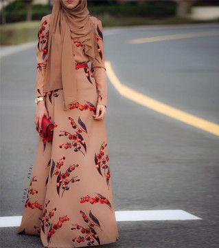 Hijab store online Modern hijab Maxi tunics Buy abaya online Hijab Maxi Tunic Shirt Dress