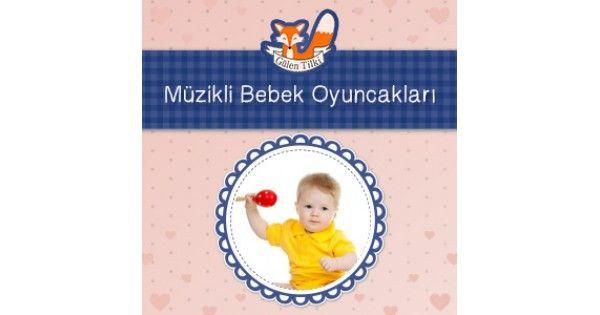 GülenTilki 'de Müzikli Bebek Oyuncakları ürünlerini inceleyebilir, çeşitleri hakkında bilgi alabilir, en uygun fiyatlarla güvenle alışveriş yapabilirsiniz.