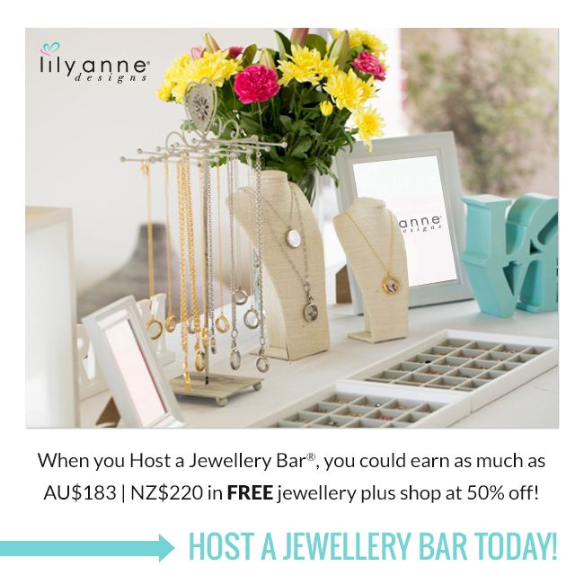 Get your friends together for a fun personalised jewellery session! http://bit.ly/1ALSE6s #JewelleryBar #LilyAnneDesigns #PersonalisedJewellery