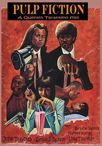 Pulp Fiction Painting - Pulp Fiction by Larry Nadolsky