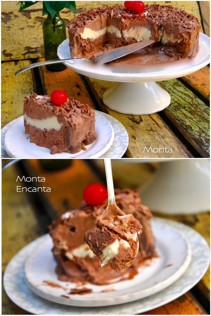 Sorvetão de Prestígio, sorvete com recheio de prestigio e barra de chocolate prestígio para decorar