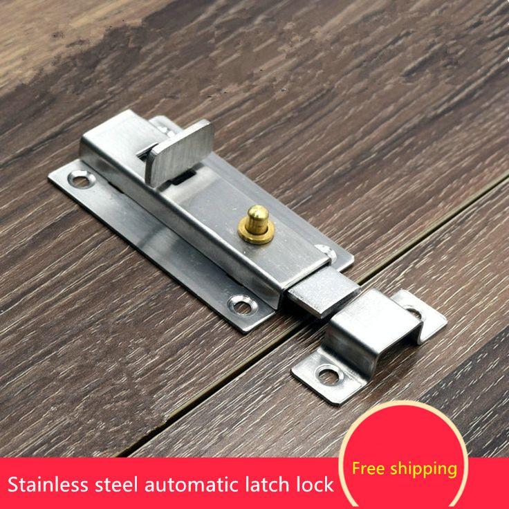 $11.00 (Buy here: https://alitems.com/g/1e8d114494ebda23ff8b16525dc3e8/?i=5&ulp=https%3A%2F%2Fwww.aliexpress.com%2Fitem%2FStainless-steel-automatic-spring-bolt-3-Inch-4-inch-button-type-spring-lock-bolt-bathroom-window%2F32731948336.html ) Free shipping Stainless steel automatic spring bolt 3 Inch 4 inch button type spring lock bolt bathroom window bolt for just $11.00