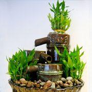 Marche à suivre, matériel à utiliser et quelques trucs pour construire votre propre fontaine d'intérieur.