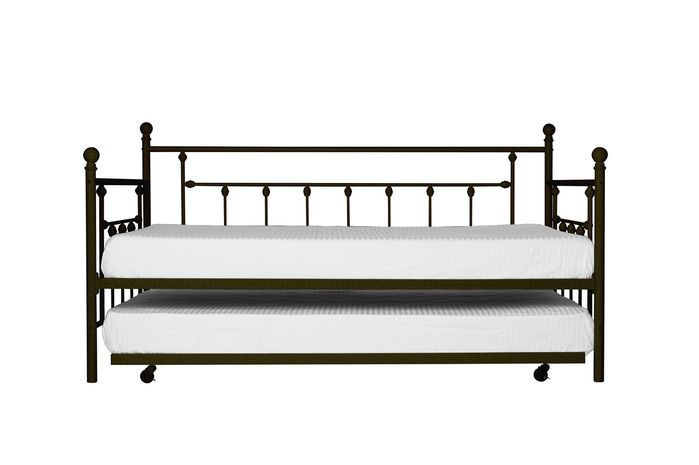 "41.5hx41.5dx77.5""l. Loft. Malcom Trundle Daybed $179"