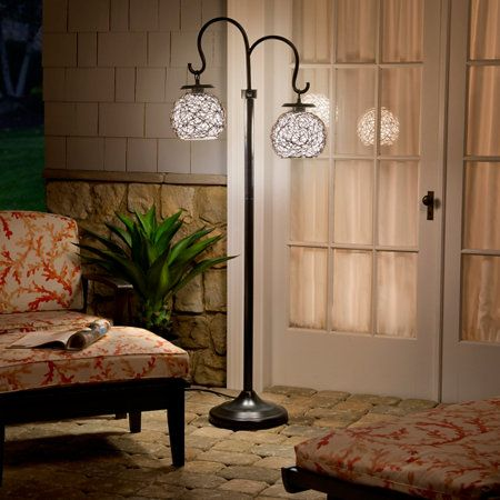 Castillo Outdoor Table Lamp And Floor Lamp