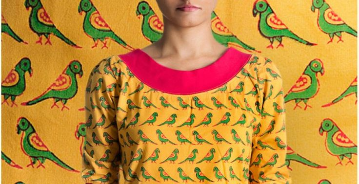Parrots in the foreground ~ Gaamthi tshirt