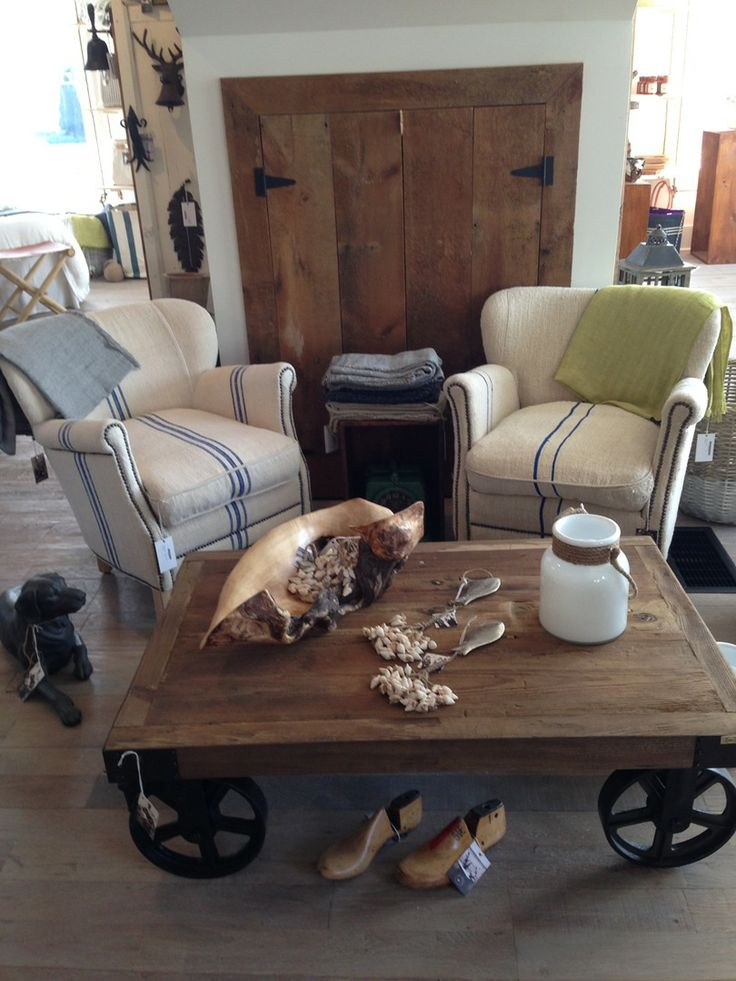 Some beautiful rustic country decor at #gistorfandgray #bobcaygeon