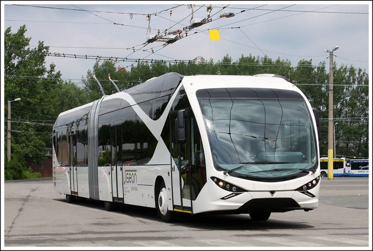Trolleybus Viseon #electric bendy #bus #articulated