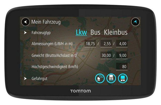 Lkw Navigationsgerat Go Professional 520 Lkw Fahrzeuge Und Gefahrgut