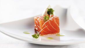 Lett rett med ørret som passer fint til forrett eller smårett. #fisk #oppskrift #middag