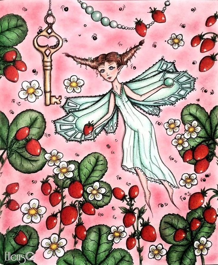 Strawberry fairy from Magical Delights #čarovnélahodnosti #carovnelahodnosti #magicaldelights #klaramarkova #kláramarková #arttherapy #colorindolivrostop #coloring_masterpieces #divasdasartes #nossa_vida_colorida #coloringmasterpiece#desenhoscolorir #coloring_secrets #coloringsecrets #artecomoterapia #fabercastellpolychromos #prismacolors #carandache #supracolors #posca #ellens #coloriagepouradultes #arte_e_colorir #colouredpencils #coloringforadults #docepapelatelier #coloringsecrets…