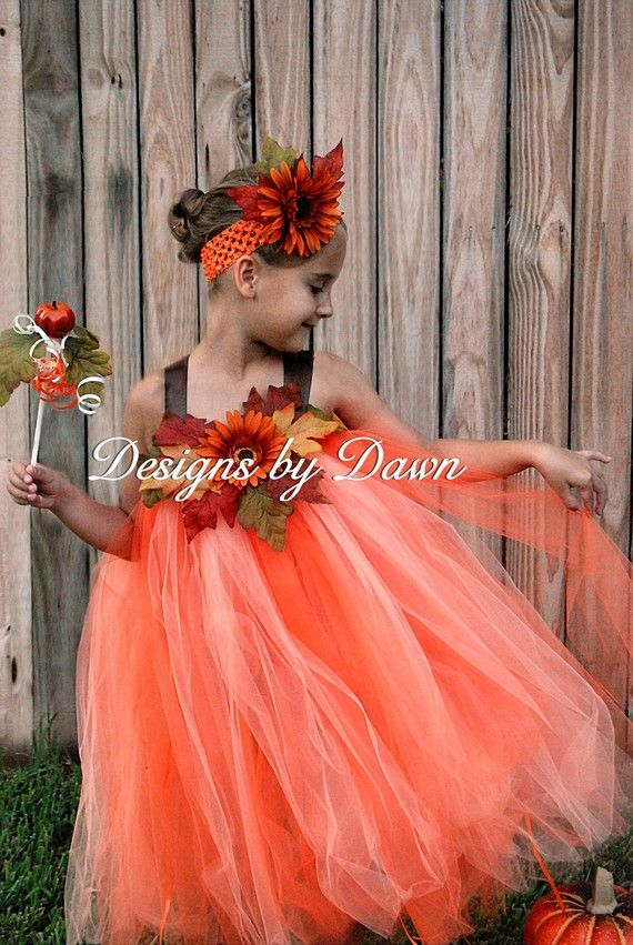 108 best images about flower girl orange -coral- yellow on ...