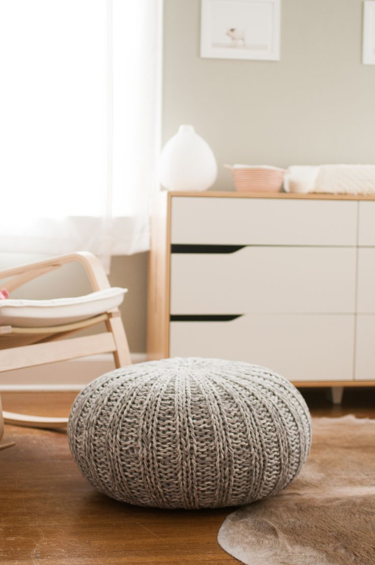 Lovely Use Of Ikea Furniture In Her Son S Nursery By Katy Cartland Pouf From The