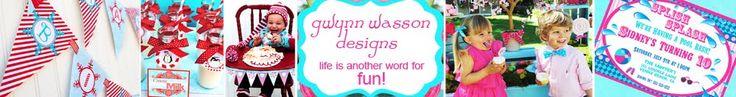Gwynn Wasson Designs - parties!