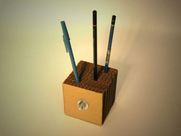 Куб-органайзер из картона