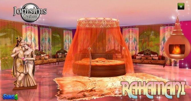 Rahamani Indian bedroom at Jomsims Creations
