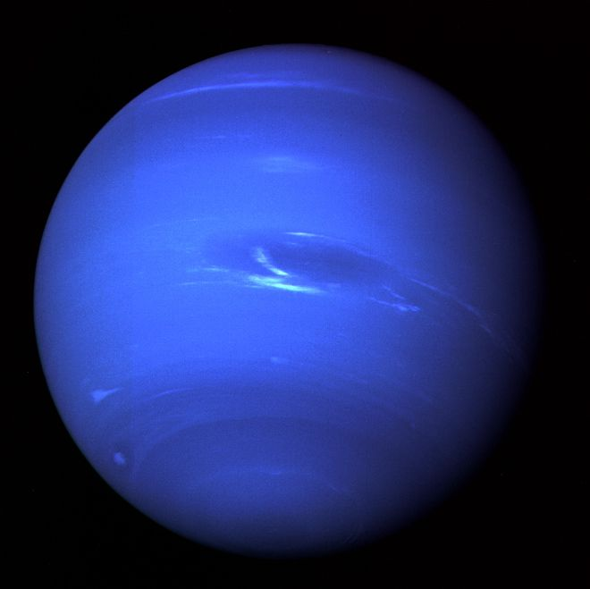 Neptune - Nasa #Blue #planet ~ Beautiful