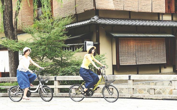 ミナポートは、みんなで自転車を共有しながら利用する「シェアバイク」という新しい移動手段です。